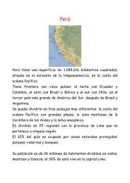 Perú tiene una superficie de 1.285.216 kilómetros cuadrados ...