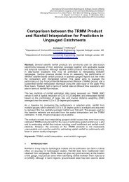 Comparison between the TRMM Product and Rainfall Interpolation ...