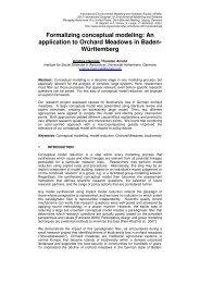 Formalizing conceptual modeling - International Environmental ...