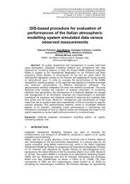 Paper details - International Environmental Modelling and Software ...