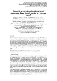 Semantic annotation of environmental resources - International ...