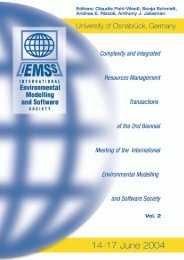 Volume 2 - International Environmental Modelling and Software ...