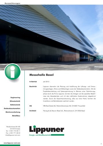 Messehalle Basel