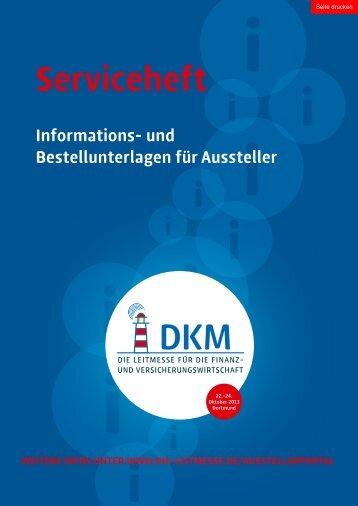 serviceheft - DKM 2013
