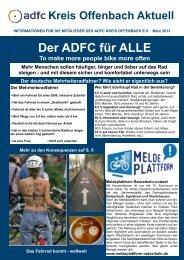 März 2013 - ADFC Kreis Offenbach