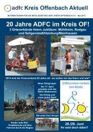 Mai 2013 - ADFC Kreis Offenbach