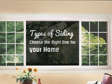 Types of Siding in Chicago
