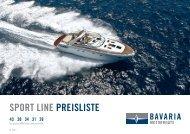 SPORT LINE PREISLISTE - zu Boote Pfister
