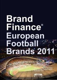 Brand finance® european football brands 2011