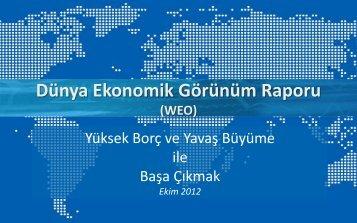 Dünya Ekonomik Görünüm Raporu - IMF