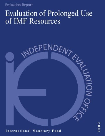 English - Independent Evaluation Office (IEO) of the IMF