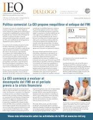 Política comercial: La OEI propone reequilibrar el enfoque del FMI ...