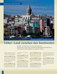 Türkei–Land zwischen den Kontinenten