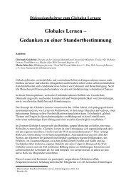 Globales Lernen - Eine Welt Netzwerk Bayern e.V.