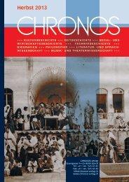 Vorschau 2013_2.pdf - Chronos Verlag
