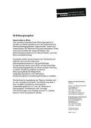 Bildungsangebote - Museen der Stadt Nürnberg