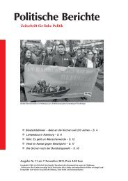 Politische Berichte 11/2013, S. 2.