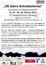 Plakat Flyer 1 - Evangelisch-Lutherische Kirche in Bayern