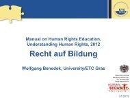 PPP Recht auf Bildung - ETC Graz