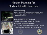 Motion Planning and Physically-Based Simulation for Medical ...