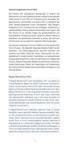 Jahrestagung des Deutsch-Ungarischen Forums A Magyar-Német ... - Seite 3