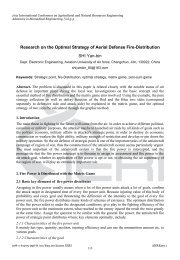 Research on the Optimal Strategy of Aerial Defense Fire-Distribution ...