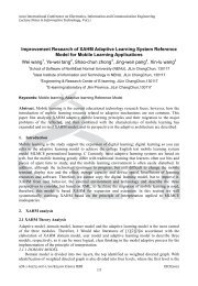 Improvement Research of XAHM Adaptive Learning System ...