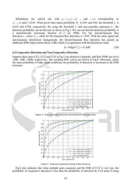 A Cooperative Spectrum Detection Technique in Non-Gaussian ...