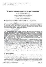 The study on Expressway Traffic Flow Based on SARIMA Model ...