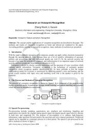 Research on Voiceprint Recognition Zhang Wanli, Li Guoxin - IERI