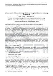 A Framework of Semantic Image Retrieval Using Collaborative - IERI