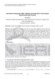 Information Holography GM(1,1) Model and Application to the ...