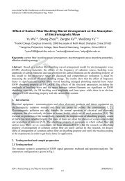 Effect of Carbon Fiber Buckling Waved Arrangement on the ...