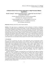 A Robust Active Force Control Algorithm in High Precision Motion ...
