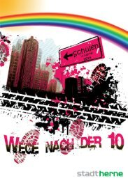 Broschüre Wege nacht der 10 - Stadt Herne