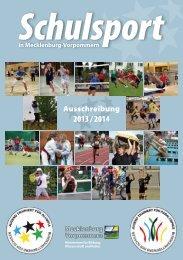 Schulsport in M-V 2013/2014 - Bildungsserver Mecklenburg ...