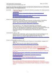 Erlasse 2006 - bei der LISt Gesellschaft für Verkehrswesen und ...