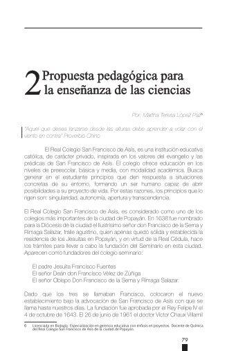 2Propuesta pedagógica para la enseñanza de las ciencias - ieRed