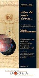 When Art meets Science... - cocs | congress organisation c. schäfer