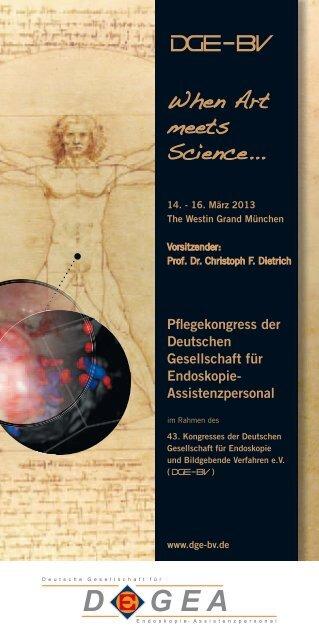 When Art meets Science... - cocs   congress organisation c. schäfer