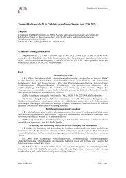 Gesamte Rechtsvorschrift für Nadelstichverordnung, Fassung vom ...