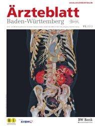 Ärzteblatt Baden-Württemberg 11-2013 [PDF] - Landesärztekammer ...