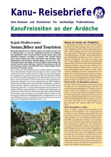 Kanu-Reisebriefe - Boot&Berg