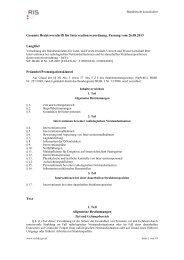 Interventionsverordnung 2007 - Bundesministerium für Gesundheit