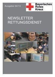 Newsletter Rettungsdienst