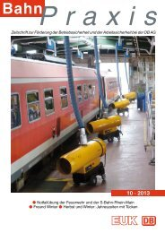10 · 2013 - Eisenbahn-Unfallkasse