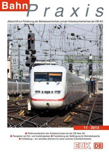 11 · 2013 - Eisenbahn-Unfallkasse