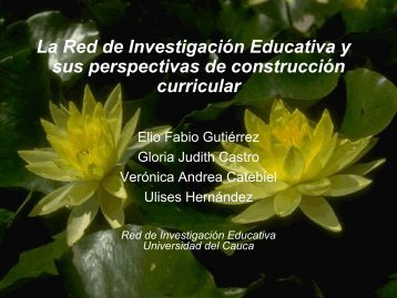 Red de Invesyigacion Educativa - ieRed