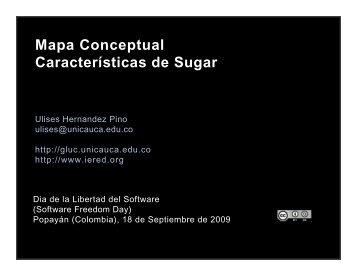 Mapa Conceptual Características de Sugar - ieRed