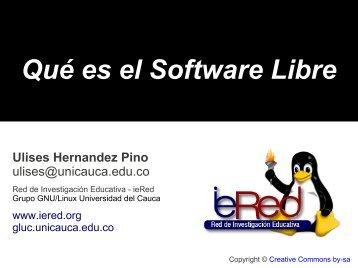 Qué es el Software Libre - ieRed